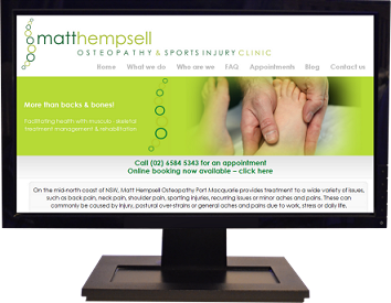 Business Website Design Send Marsh